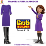 Mayor Maria Madison Dress-Up Tutorial by Rapper1996