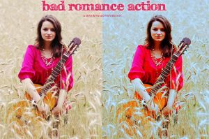 Bad Romance Action by iwantdomination