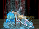 Making a Splash in Flashdance by NekoHybrid