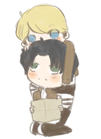 Levi x Irvin by maicafee