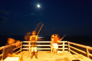 Night Fishers by patganz