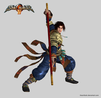 Soul Calibur IV - Kilik in Presentation Pose by iheartibuki