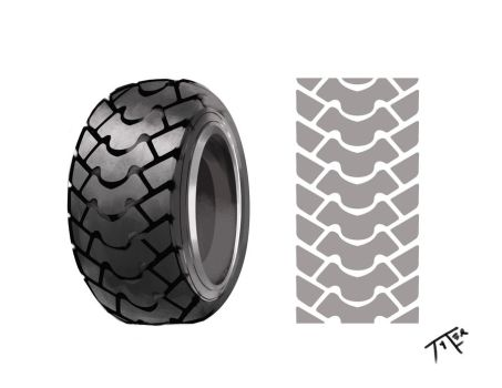 Tire Study by tylerthebeal