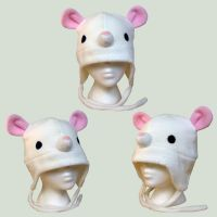 White Mouse Hat by fabricninja