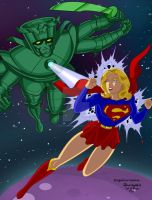 Supergirl 3 by Rogelioroman by THE-Darcsyde