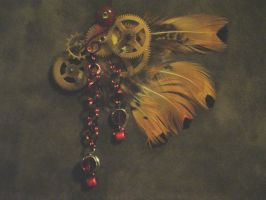 Steampunk jewelry 002 by Teacat-Designs