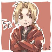Doodle Ed by evanescent-adoration