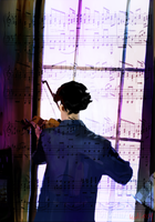 Window Violin by Bloodfire09