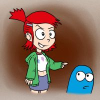 Frankie and Bloo by Fadri