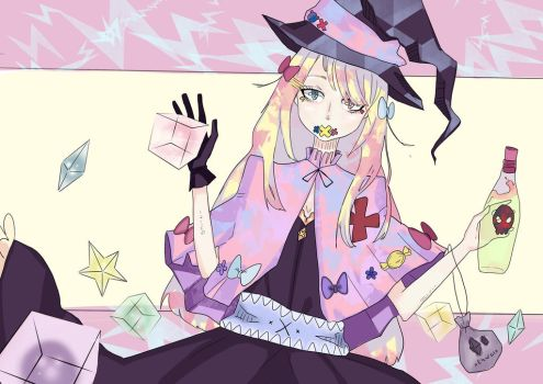 A witch who likes cute things by natsu636