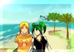 Luciana y Rosa by aizerengendro