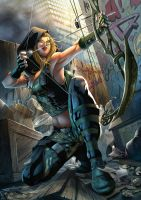 cover for Zenescope GRIMM FAIRY TALES ROBIN HOOD#5 by Yleniadn86