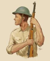 Bataan Soldier 1941 by Daeruth35