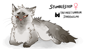 warriors oc: stumblestep by gamakichisora