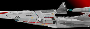 Pharthalain-class Frigate by Afterskies