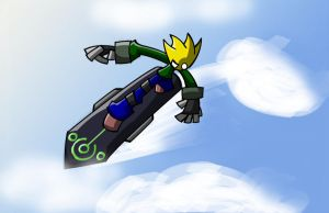 Sky Surfer by TheonknownKLAW