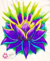Lotus Flower by wolfhogen