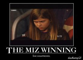 Miz's WWE Title Win MadGirl by dachamp21X