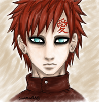 Gaara by LoudMouth321