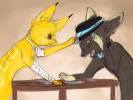 JAB! by Bowtiefoxin