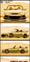 Honda S2000 'Venom' 5 angles by stjoseph1903