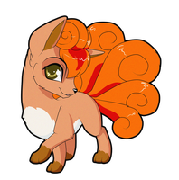 Vulpix by Sugarcup91