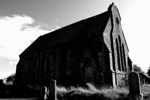 deserted church at Kinnell 059 by lichtie