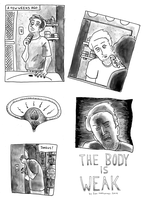 The Body is Weak Page 1 (of 7) by naha-def