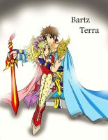 Bartz x Terra : I'll Protect You by thepinkiest