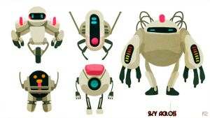 Police Alien Robots or PAR by hision