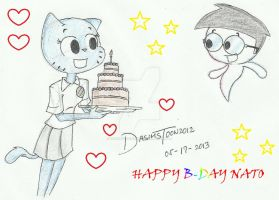 Happy B-DAY NATO by DASimsTOON2012