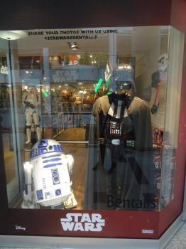 R2D2 and Darth Vader by JimmyCartoonist