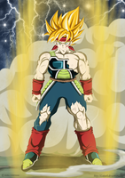 Bardock the legendary super saiyan by Luisseb