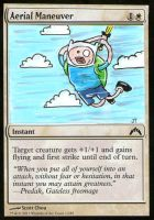 Magic the Gathering Finn's Aerial Maneuver by johnnyism