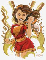 Marker: Mary Marvel by KidNotorious