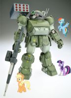 My Little VOTOMS by BrutalityInc