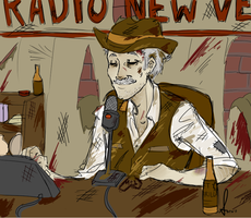 Fallout: Mr. New Vegas by Sesshomaru-Sara