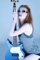 Bass Guitar 2 by MissLoci