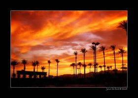 Las Vegas Sunset by kkart