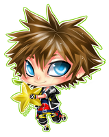 CHIBI - KH2 Sora by Razon-Fan