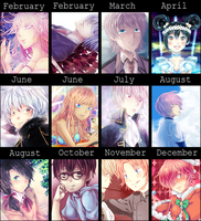 Art Summary 2014 by Sakura-Ruri