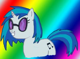 Vinyl Scratch by swimfreak660