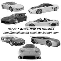 Acura NSX Photoshop Brushes by ModifiedCars-stock
