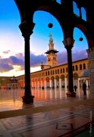 Omayyad Mosque - The Columns by ashamandour