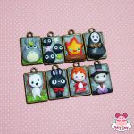 Totoro and Friends Mini Cammeo by dragonfly-world