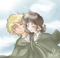 LOTR- Together Like This.. by Loralit
