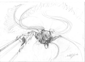 Black rock Shooter -try- by Keynok