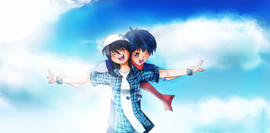 .: Conquer the Sky Together :. by kazelee
