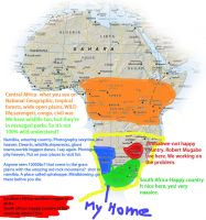 Africa for Idiots by hougaard