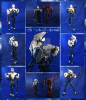 Bionicle MOC: Sir Richard Alastair by Mana-Ramp-Matoran